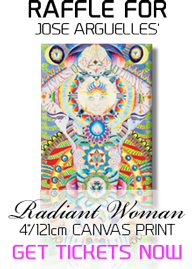 Raffle for Jose Arguelles' 'Radiant Woman' in Canvas Print