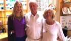 Stephanie South, Mike Booth and Avani