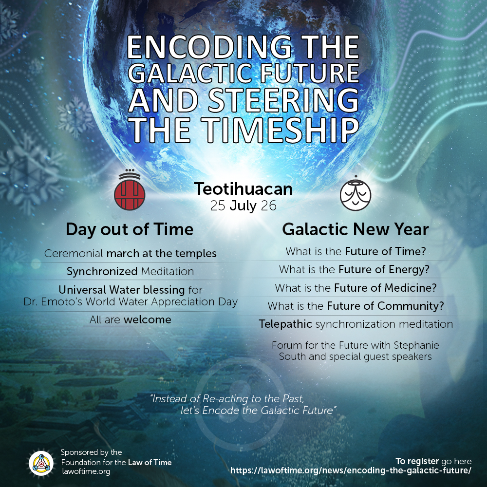 Encoding the Galactic Future in Teotihuacan, Mexico
